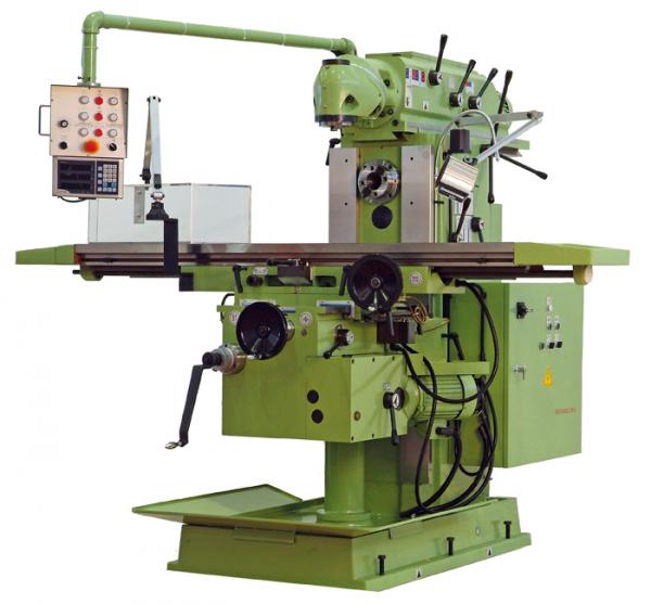 Fresadora universal fu 1250 construm tica for Tipos de fresadoras