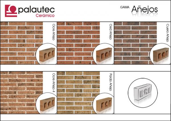 Ladrillo cara vista gama a ejos construm tica - Clases de ladrillos ...