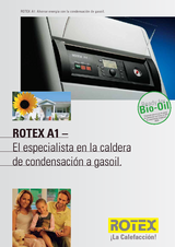 Portada de Rotex A1 El Especialista En La Caldera De Condensacion A Gasoil